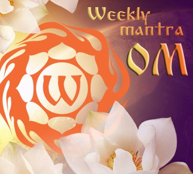 Weekly practice of mantra OM